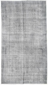 Colored Vintage Rug 113X206 Authentic  Modern Handknotted Light Grey/Light Blue (Wool, Turkey)
