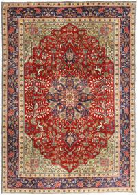 Tabriz Patina Rug 193X277 Authentic  Oriental Handknotted Dark Red/Rust Red (Wool, Persia/Iran)