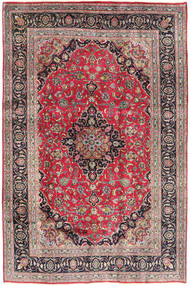 Kashmar Rug 192X290 Authentic  Oriental Handknotted Light Grey/Rust Red (Wool, Persia/Iran)