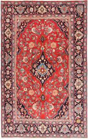 Keshan Rug 193X310 Authentic  Oriental Handknotted Brown/Dark Purple (Wool, Persia/Iran)