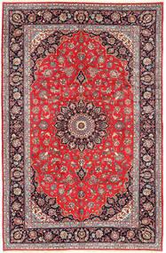 Keshan Rug 200X300 Authentic  Oriental Handknotted Brown/Beige (Wool, Persia/Iran)