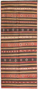 Kilim Fars Rug 157X380 Authentic  Oriental Handwoven Hallway Runner  Dark Red/Crimson Red (Wool, Persia/Iran)
