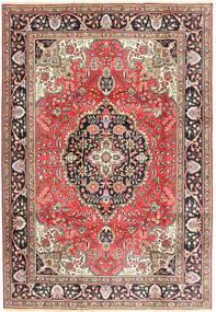 Tabriz Rug 200X287 Authentic  Oriental Handknotted Dark Red/Brown (Wool, Persia/Iran)