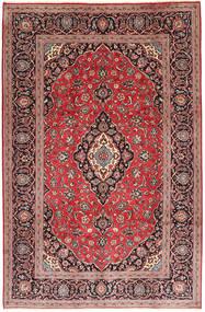 Keshan Rug 194X300 Authentic  Oriental Handknotted Dark Red/Rust Red (Wool, Persia/Iran)