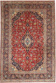 Keshan Rug 252X368 Authentic  Oriental Handknotted Dark Red/Dark Brown Large (Wool, Persia/Iran)