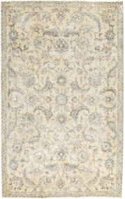 Colored Vintage Rug 174X274 Authentic  Modern Handknotted Light Grey/Beige (Wool, Persia/Iran)