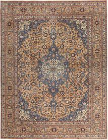 Keshan Patina Rug 292X385 Authentic  Oriental Handknotted Dark Brown/Dark Red Large (Wool, Persia/Iran)