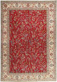 Tabriz Patina Rug 243X343 Authentic  Oriental Handknotted Dark Red/Dark Brown (Wool, Persia/Iran)