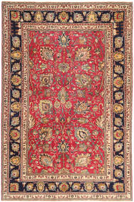 Tabriz Patina Rug 195X295 Authentic  Oriental Handknotted Rust Red/Dark Red (Wool, Persia/Iran)