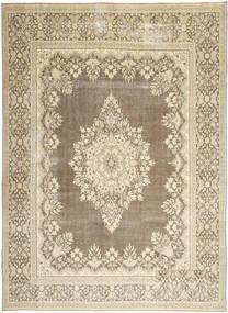 Kerman Patina Rug 285X388 Authentic  Oriental Handknotted Light Grey/Beige Large (Wool, Persia/Iran)