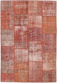 Patchwork Rug 160X230 Authentic  Modern Handknotted Dark Red/Light Pink (Wool, Turkey)
