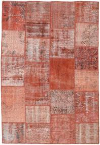 Patchwork Rug 158X231 Authentic  Modern Handknotted Dark Red/Light Pink (Wool, Turkey)