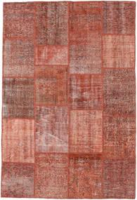Patchwork Rug 158X235 Authentic  Modern Handknotted Dark Red/Light Brown (Wool, Turkey)