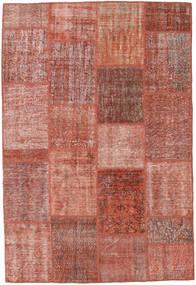 Patchwork Rug 160X233 Authentic  Modern Handknotted Dark Red/Light Pink (Wool, Turkey)