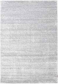 Bamboo Silk Loom - Grey Rug 160X230 Modern White/Creme/Light Grey ( India)