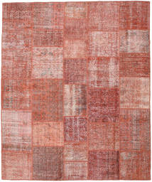 Patchwork Rug 250X300 Authentic  Modern Handknotted Light Pink/Dark Red Large (Wool, Turkey)