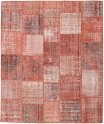 Patchwork Rug 251X300 Authentic  Modern Handknotted Light Pink/Dark Red Large (Wool, Turkey)