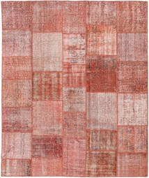 Patchwork Rug 251X300 Authentic  Modern Handknotted Dark Red/Light Pink Large (Wool, Turkey)