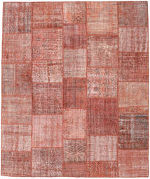 Patchwork Rug 250X298 Authentic  Modern Handknotted Light Pink/Dark Red Large (Wool, Turkey)