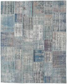 Patchwork Rug 245X302 Authentic  Modern Handknotted Light Grey/Blue (Wool, Turkey)