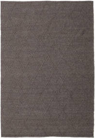 Svea - Dark Brown Rug 200X300 Authentic  Modern Handwoven Brown/Dark Grey (Wool, India)