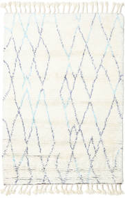 Rana - Natural/Blue Rug 120X180 Authentic  Modern Handknotted Beige/White/Creme (Wool, India)