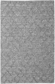 Rut - Dark Grey Melange Rug 200X300 Authentic Modern Handwoven Light Grey/Dark Grey (Wool, India)