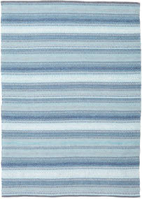 Wilma - Blue Rug 170X240 Authentic  Modern Handwoven Light Blue (Cotton, India)