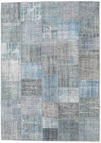Patchwork Rug 250X352 Authentic  Modern Handknotted Light Grey/Blue/Light Blue Large (Wool, Turkey)