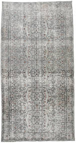Colored Vintage Rug 145X277 Authentic  Modern Handknotted Light Grey/Dark Grey (Wool, Turkey)