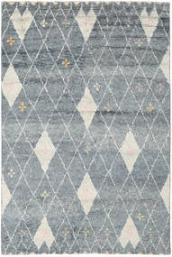 Hatsya - Grey Rug 200X300 Authentic Modern Handknotted Light Grey/Blue (Wool, India)