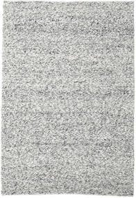 Bubbles - Melange Grey Rug 250X350 Modern Light Grey/Turquoise Blue Large (Wool, India)