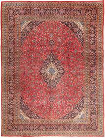 Mashad Rug 295X390 Authentic Oriental Handknotted Dark Red/Light Brown Large (Wool, Persia/Iran)