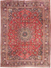 Mashad Rug 285X375 Authentic Oriental Handknotted Dark Red/Light Pink Large (Wool, Persia/Iran)