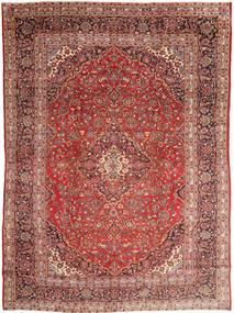 Mashad Rug 285X390 Authentic  Oriental Handknotted Dark Red/Dark Brown Large (Wool, Persia/Iran)