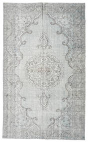 Colored Vintage Rug 186X306 Authentic  Modern Handknotted Light Grey/Turquoise Blue (Wool, Turkey)