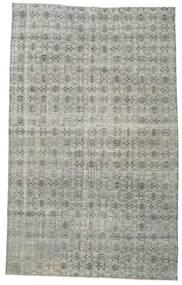 Colored Vintage Rug 181X295 Authentic  Modern Handknotted Light Grey/Dark Grey (Wool, Turkey)