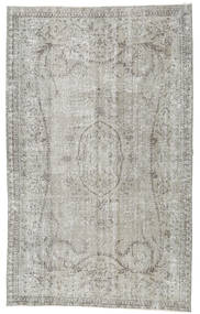 Colored Vintage Rug 160X261 Authentic  Modern Handknotted Light Grey (Wool, Turkey)