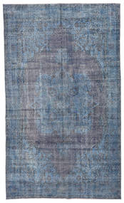 Colored Vintage Rug 185X308 Authentic  Modern Handknotted Light Blue/Blue/Dark Grey (Wool, Turkey)