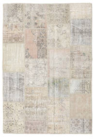 Patchwork Rug 158X231 Authentic  Modern Handknotted Light Grey (Wool, Turkey)