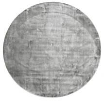 Broadway - Misty Grey Rug Ø 300 Modern Round Light Grey/Dark Grey Large ( India)