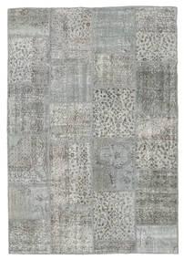 Patchwork Rug 160X232 Authentic  Modern Handknotted Light Grey/Dark Grey (Wool, Turkey)