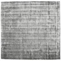 Broadway - Misty Grey Rug 250X250 Modern Square Light Grey/Dark Grey Large ( India)