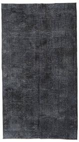Colored Vintage Rug 140X250 Authentic  Modern Handknotted Black/Dark Grey/Purple (Wool, Turkey)