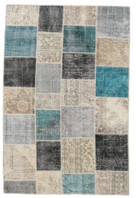 Patchwork Rug 200X300 Authentic  Modern Handknotted Light Grey/White/Creme (Wool, Turkey)