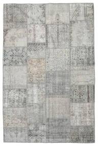 Patchwork Rug 197X298 Authentic  Modern Handknotted Light Grey (Wool, Turkey)