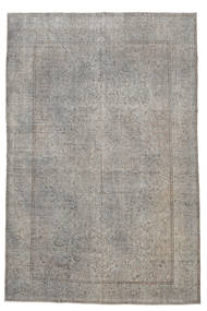 Colored Vintage Rug 213X323 Authentic  Modern Handknotted Light Grey (Wool, Turkey)