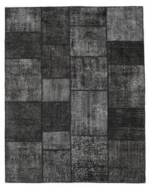 Patchwork Rug 200X250 Authentic  Modern Handknotted Dark Grey/Black (Wool, Turkey)