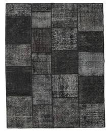 Patchwork Rug 198X252 Authentic  Modern Handknotted Dark Grey (Wool, Turkey)