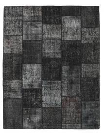 Patchwork Rug 197X251 Authentic  Modern Handknotted Black/Dark Grey (Wool, Turkey)